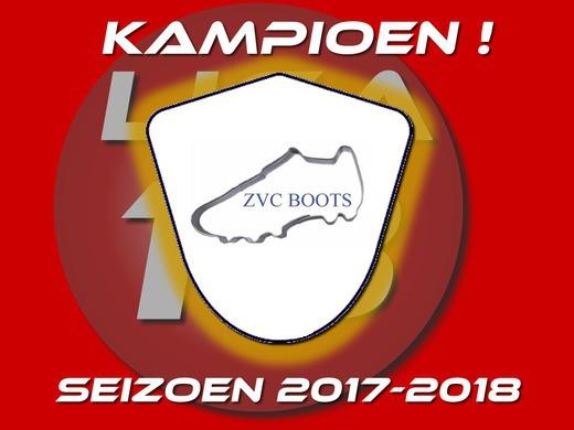 ZVC Boots KAMPIOEN!