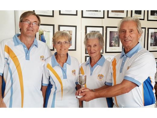Beckhart Cup drive winners