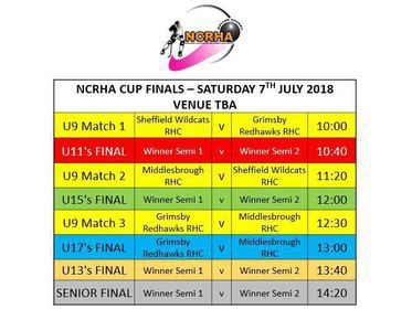 NCRHA CUP FINALS DAY 2018