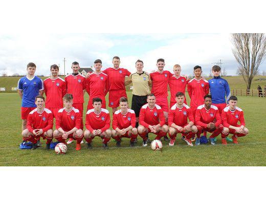 Ballina Town Squad - 4-0 winners v Manulla 25/03/18