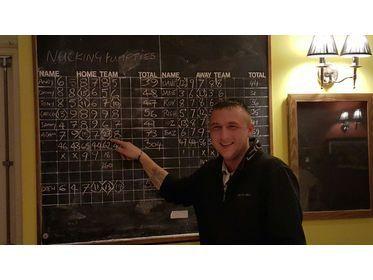 Adam Westlake's amazing 27 Spare!