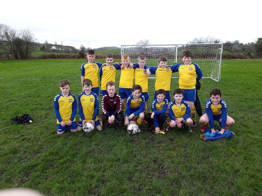 Kilmichael Rovers U12 - Season 2017-18