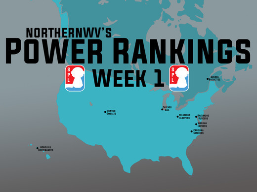 Pro Division Power Rankings - Week 1