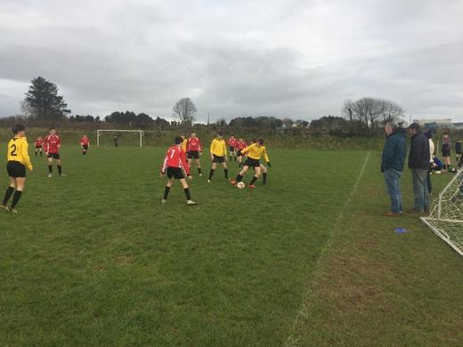Drinagh Rangers v Lyre Rovers U16 PL Dec 2017
