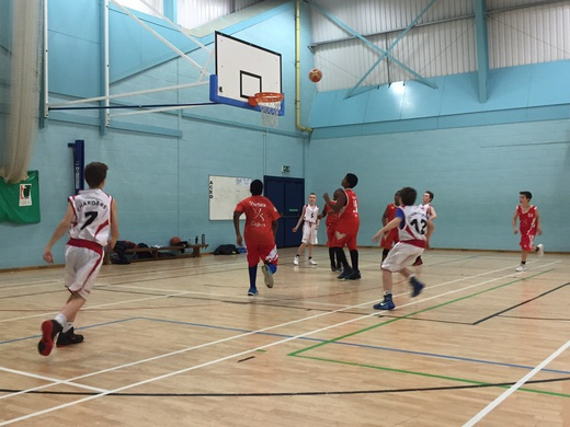 U12 Team vs Crawley Cagers