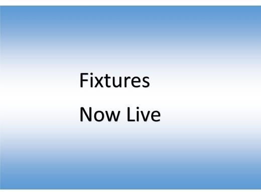 Fixtures Release 2019 - 2020