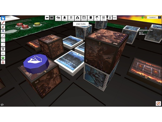 WARLINE is live on Tabletop Simulator