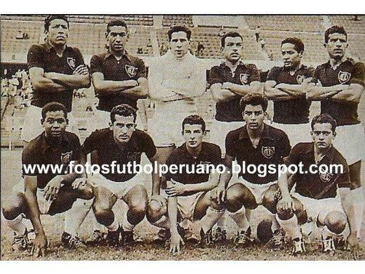 Sexto lugar Primera División 1961.