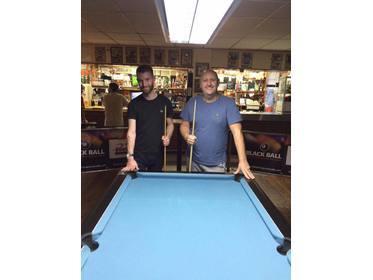SPH Singles League KO finalists Steve Wall & Richard Woan