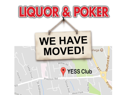 Liquor & Poker - Move Venue
