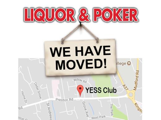 Liquor & Poker - Move Venue