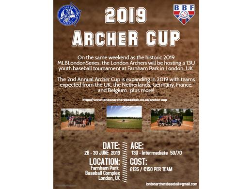 Archer Cup - 28 - 30 June 2019 at Farnham Park