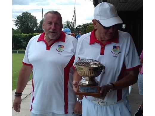 2020 - Open Pairs Champions - Jon Borges & Mike Rogacs (Steeple Bumpstead)