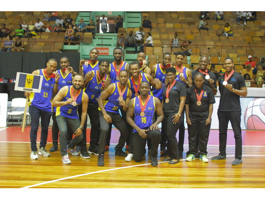 Senior Men's National Team - Bronze Medal at Fiba 2021 AmeriCup Caribbean Pre-Qualifiers 2018