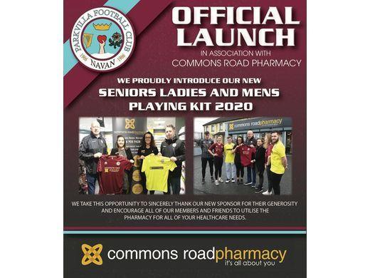 Club Sponsor -  Commons Road Pharmacy