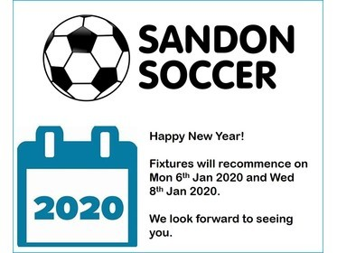 Sandon Soccer New Year 2020