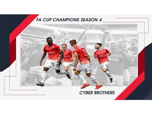 Cyber Brothers beat Tracksuit Mafia to win FA Cup.
