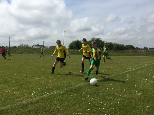 Ardfield v Lyre Rovers - U14 Cup Final - May 2018