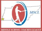 MIDDLE SCHOOL COACHES LEAGUE - Logo