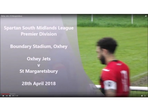 Highlights - Oxhey Jets vs St Margaretsbury Sat 28th April 2018