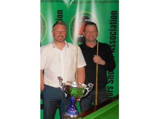 PAIRS WINNERS: MIKE WATSON & ROY HANDLEY
