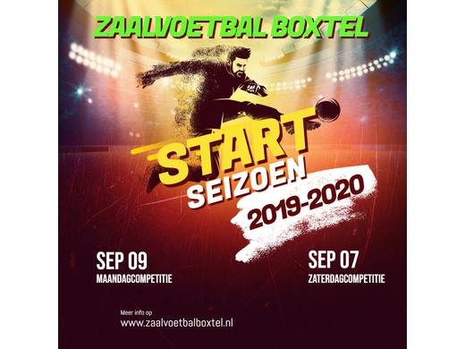 Start seizoen 2019-2020