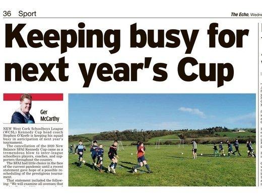 WCSL preparing for 2021 Kennedy Cup