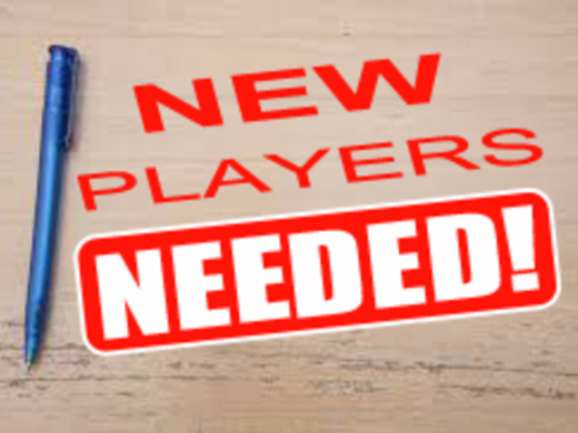 PLAYERS REQUIRED FOR 2018/19