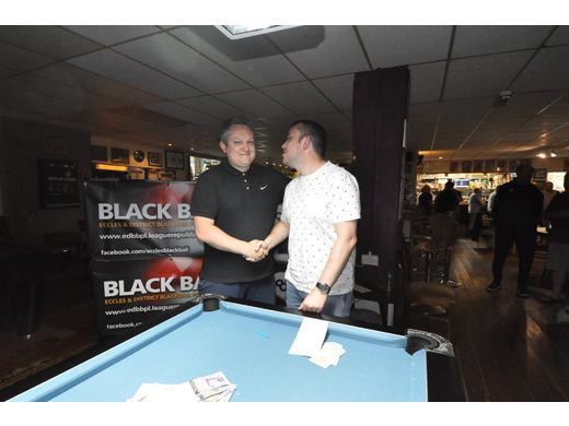 Sean Swimby & Phil Beeston - SPH Singles League Merit KO Finalists 2017