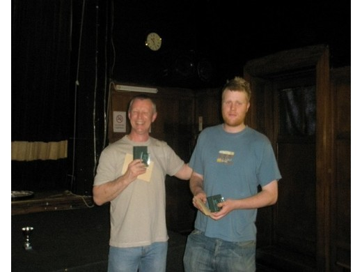 2008/9 Best Game, 12 darts - Jim Walker, Alex Long