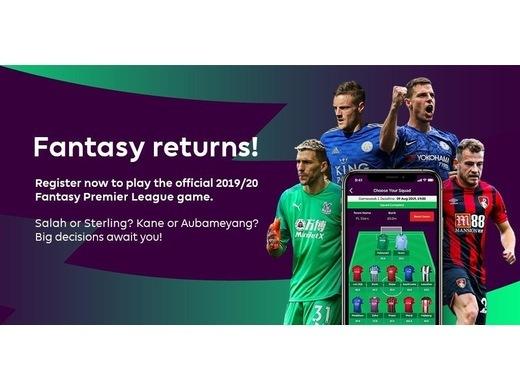 Fantasy Premier League returns for 2019/20