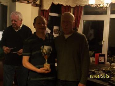 Jim Alcock 180 Trophy Winner