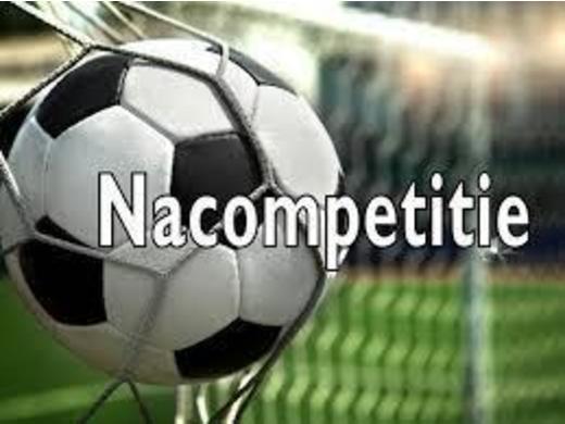 Nacompetitie zaterdag klasse 1 en 2 seizoen 2019-2020