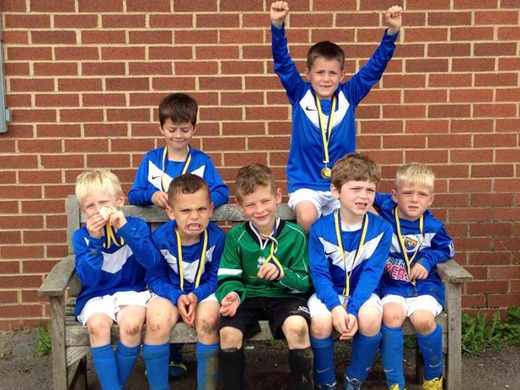 Success for Under 7's at Hucclecote Tournament 8th June 2014