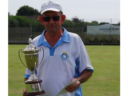 Acle A win over Freethope A in the Men Malta cup final at Bradwell