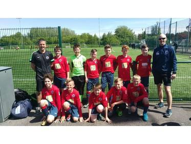 MAJFC U12 Reds EMJFL Championship League Winners