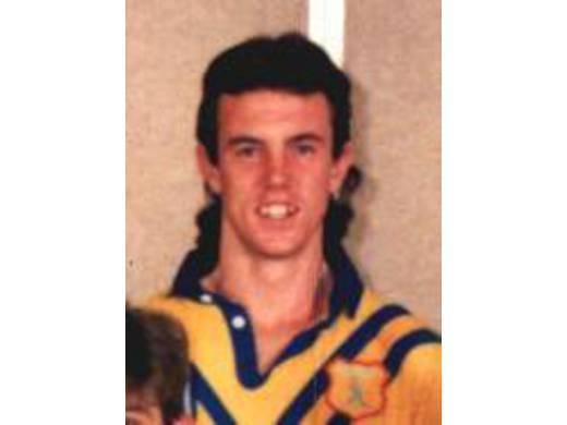 Doony player Jarrod Reardon, 1989 City Rep Team