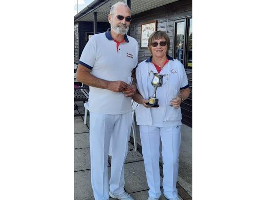 2020 - 2 Wood Mixed Pairs Champions - Nick Dykes & Rose Weston (Radwinter)