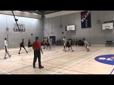 Boroughmuir Blaze V Glasgow Storm Senior men cup