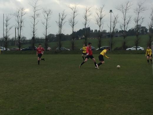Lyre Rovers v Drinagh Rangers U16 Cup - Feb 2018