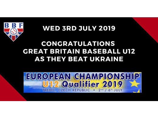 GB Baseball U12 win again, against Ukraine