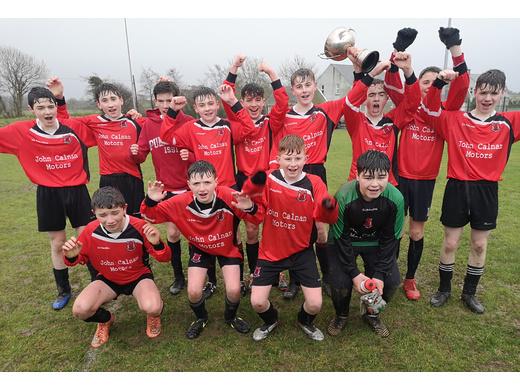 Drinagh win the SuperValu U14 Cup