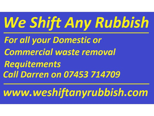 Call Darren Fox on 07453 714709