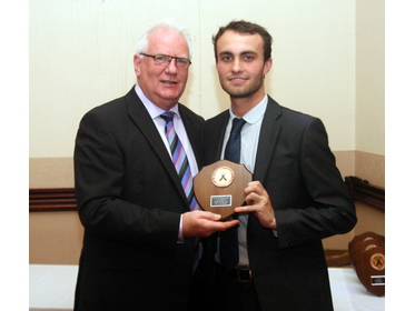 2015 - 1st XI Fielding Prize - Tom Gibson - 23 catches