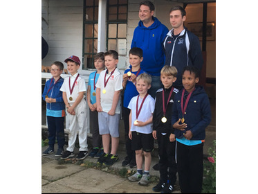 Fri 6 Sep: Kwik Cricketers with their medals