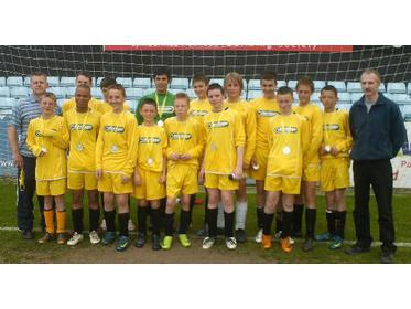Glans Roma Under 14`s League Cup Finalists