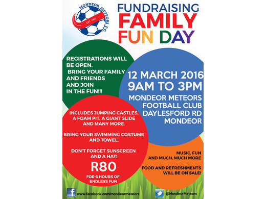 Fundraising Family Fun Day: 12 March 2016