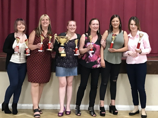 LADIES PREMIER DIVISION CHAMPIONS AND K.O CUP WINNERS - WELSH CLUB