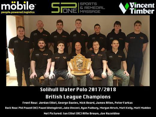 Solihull are British League Champions