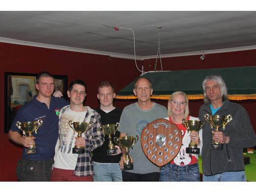 League Winners - Cueberts